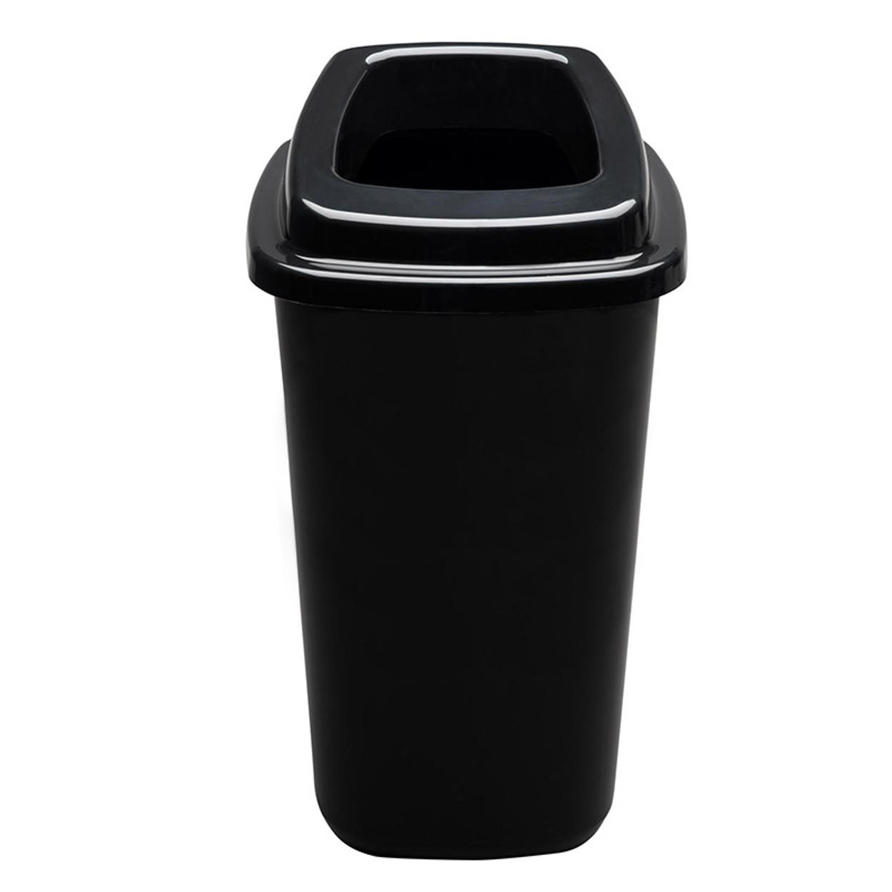 Plastový kôš na triedený odpad, 45 l, čierna