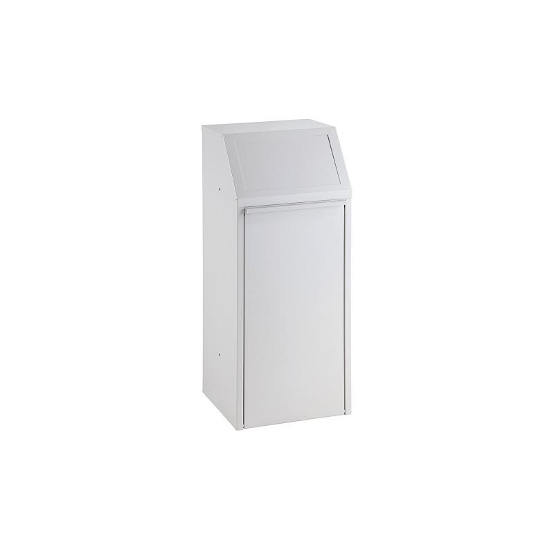 Kovový výklopný kôš 64 l, šedý