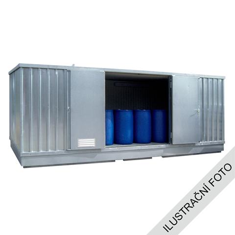 Ekosklad s termoizoláciou a kúrením, 4 × 3