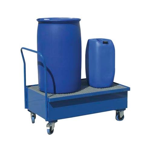 Záchytný vozík s pozinkovaným roštom