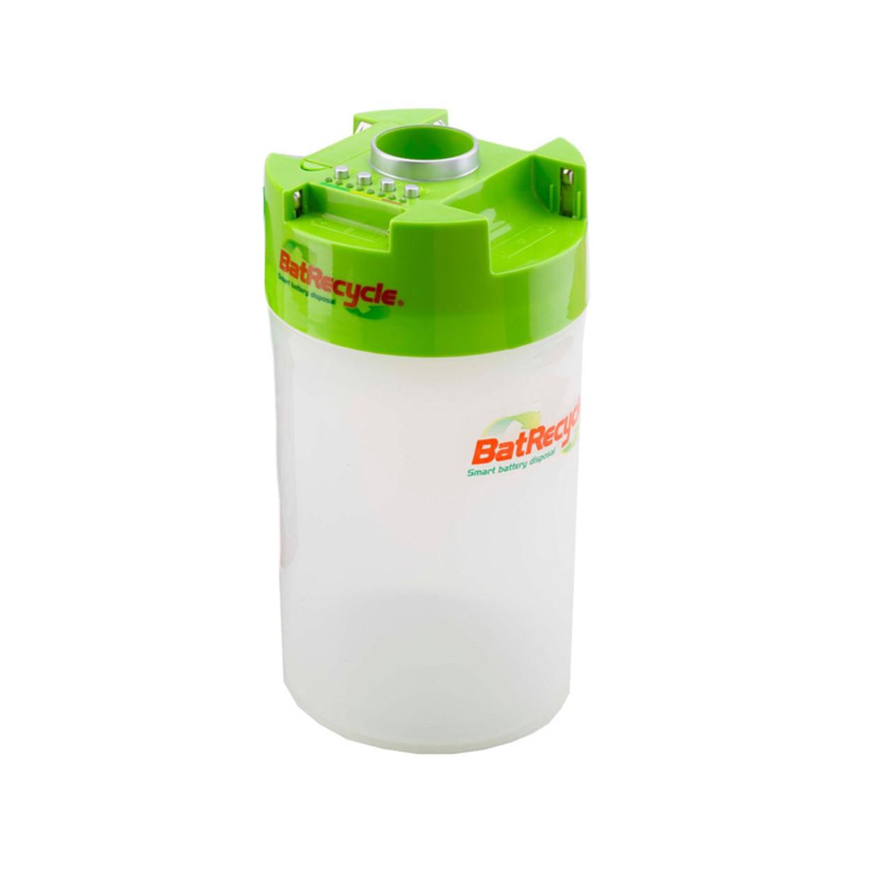 Plastový kôš na použité batérie, 1,85 l