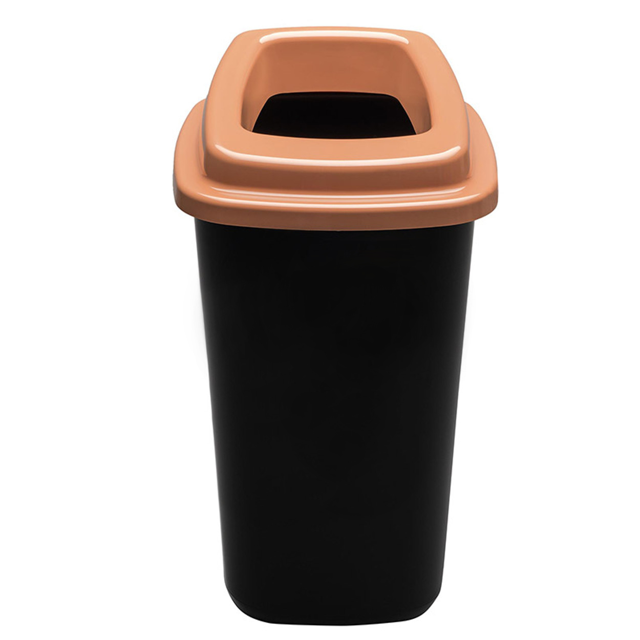 Plastový kôš na triedený odpad, 45 l, hnedá