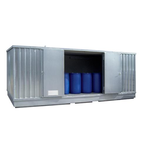 Ekosklad s termoizoláciou a kúrením, 6 × 3