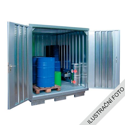 Ekosklad nebezpečných látok s nútenou ventiláciou, 3 × 2