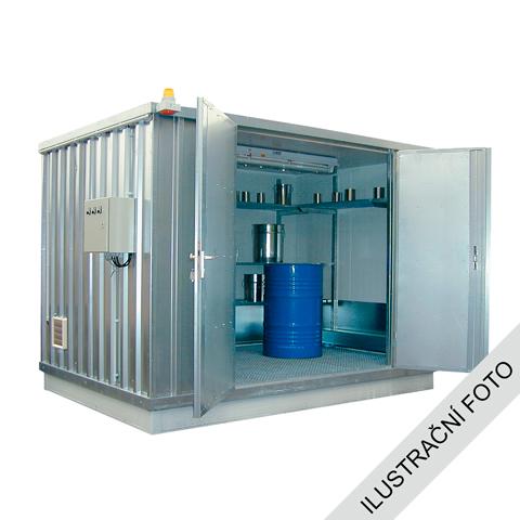 Ekosklad s termoizoláciou a kúrením, 2 × 1