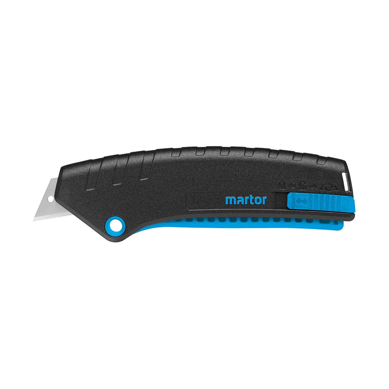SECUNORM MIZAR - Ľahký bezpečnostný nôž s páčkovým mechanizm