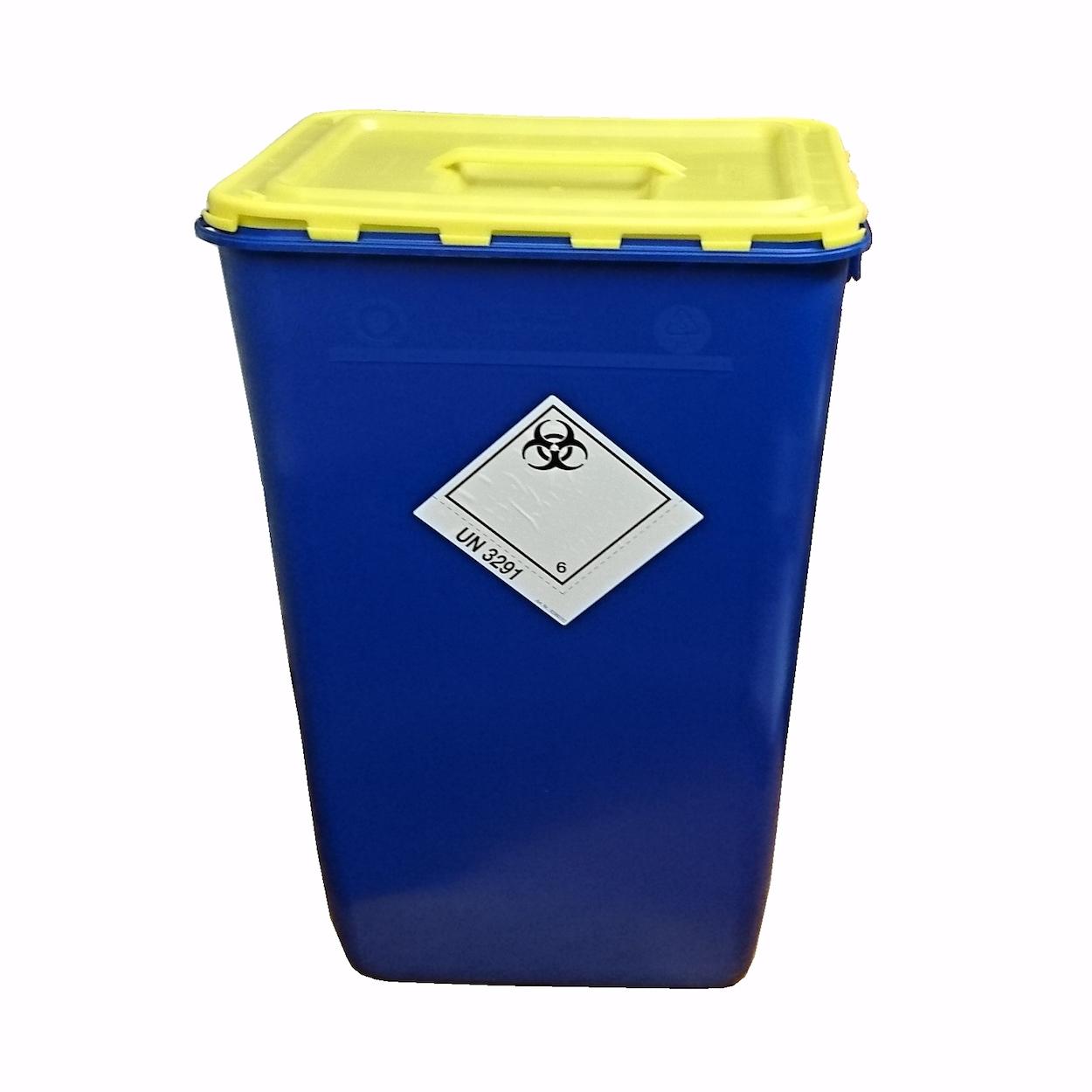 Box s vekom s úchopom na zber biologického odpadu - 60 l