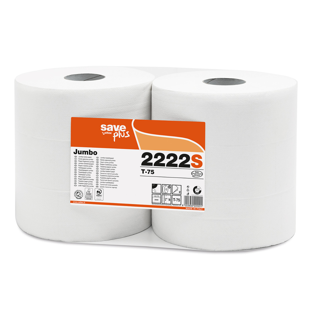 Toaletný papier Jumbo MAXI Plus