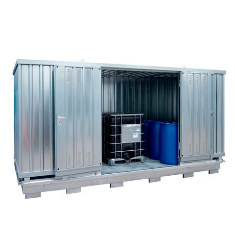 Ekosklad so samovoľnou ventiláciou, 5 × 2