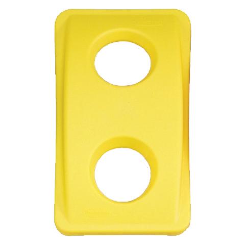 Veko s guľatými otvormi žlté