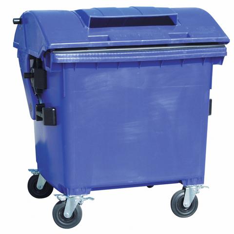 Plastový kontajner s otvorom na papier