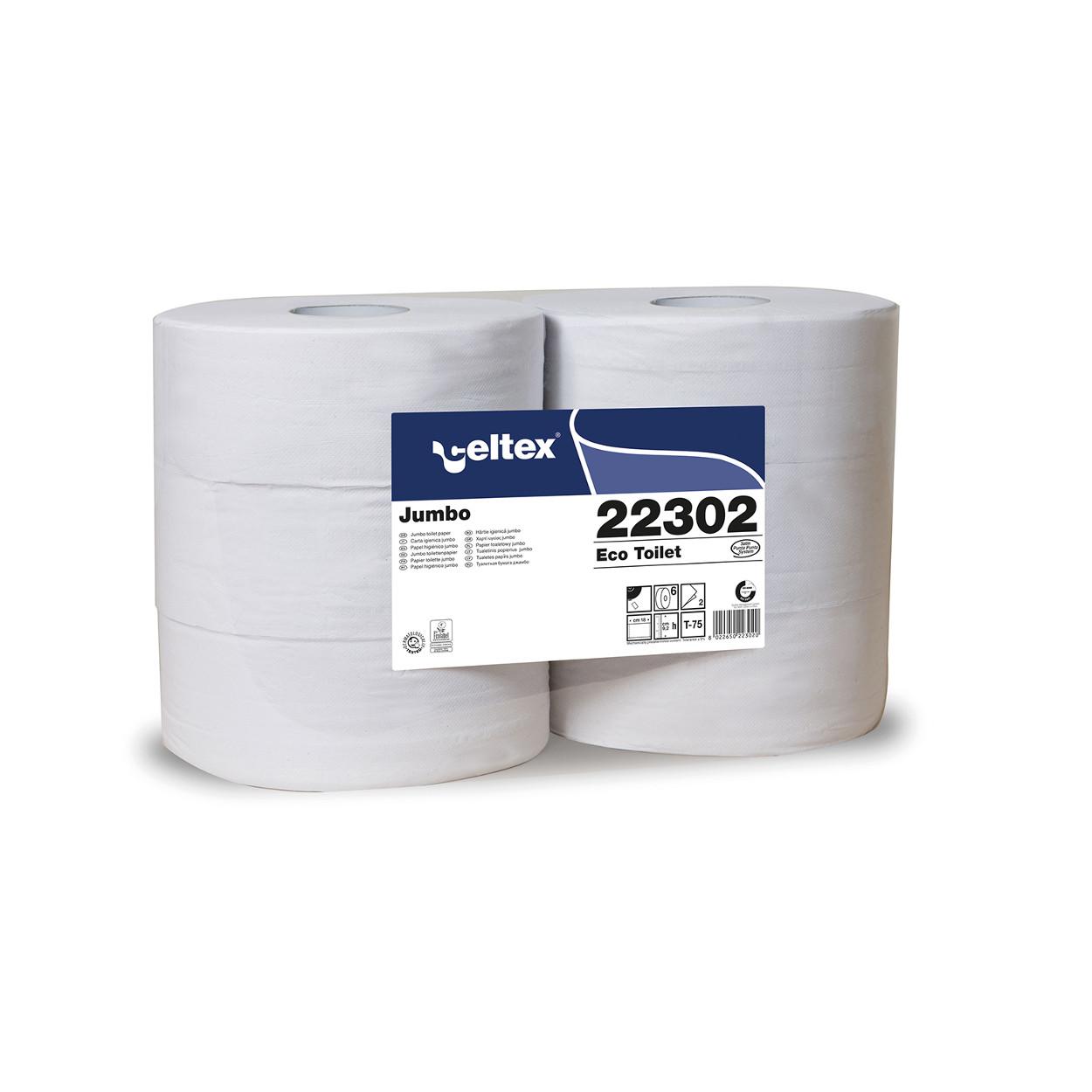 Toaletný papier Jumbo MAXI Eco