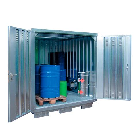 Ekosklad nebezpečných látok s nútenou ventiláciou, 2 × 2