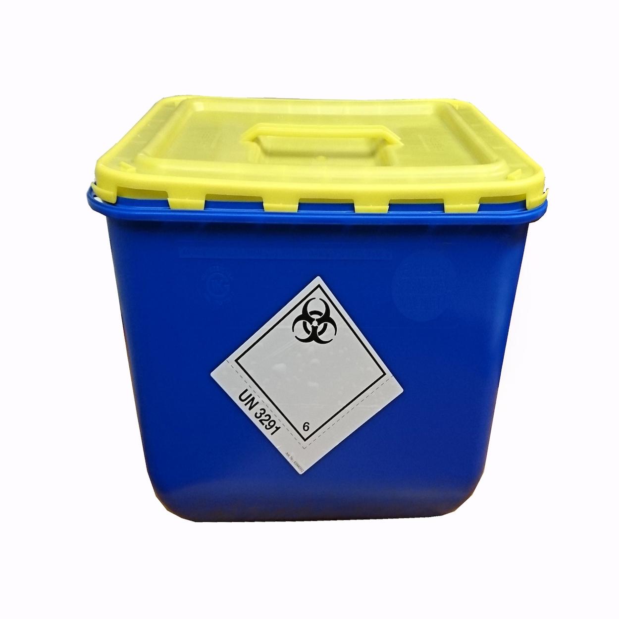 Box s vekom s úchopom na zber biologického odpadu - 30 l