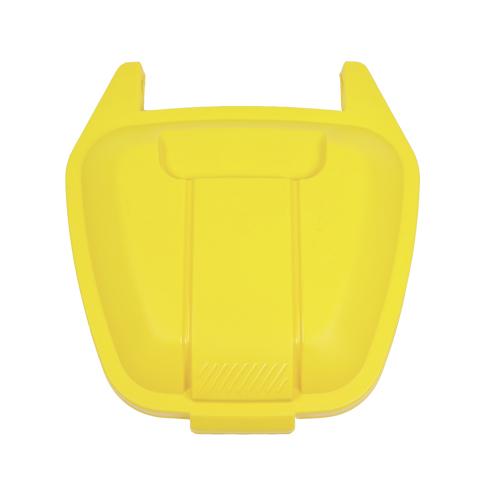 Veko k mobilnej nádobe, žlté