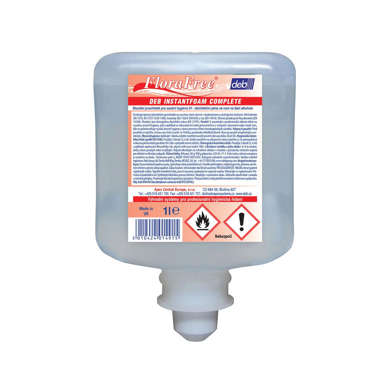 Dezinfekčný prípravok na ruky 6x1L