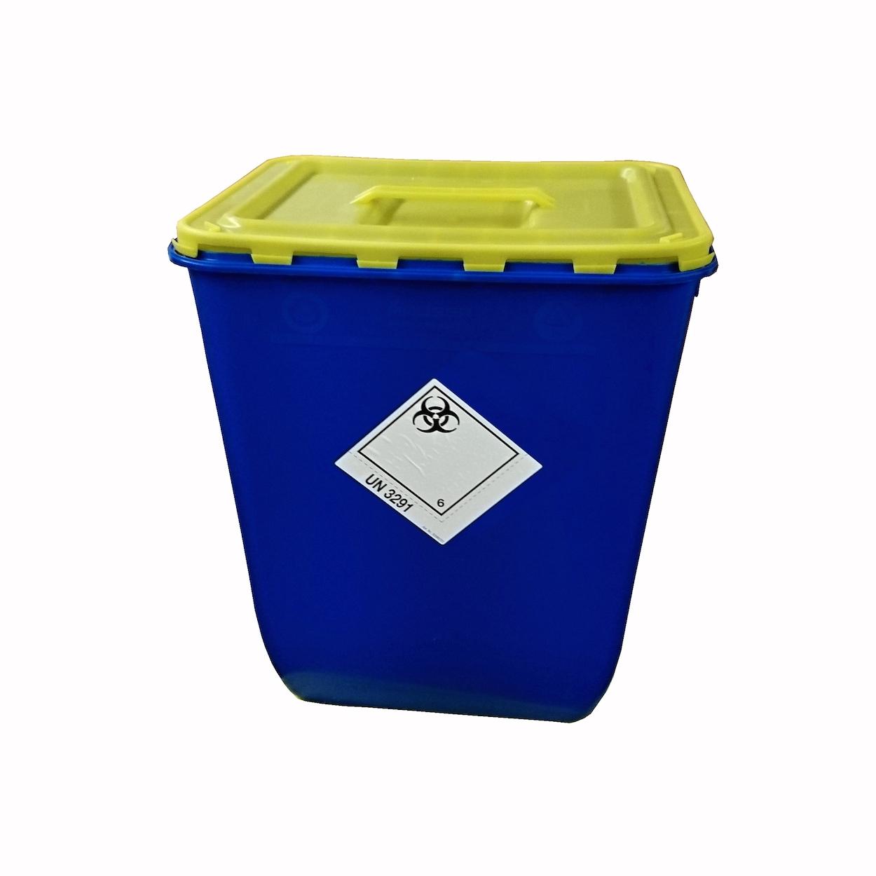 Box s vekom s úchopom na zber biologického odpadu - 50 l