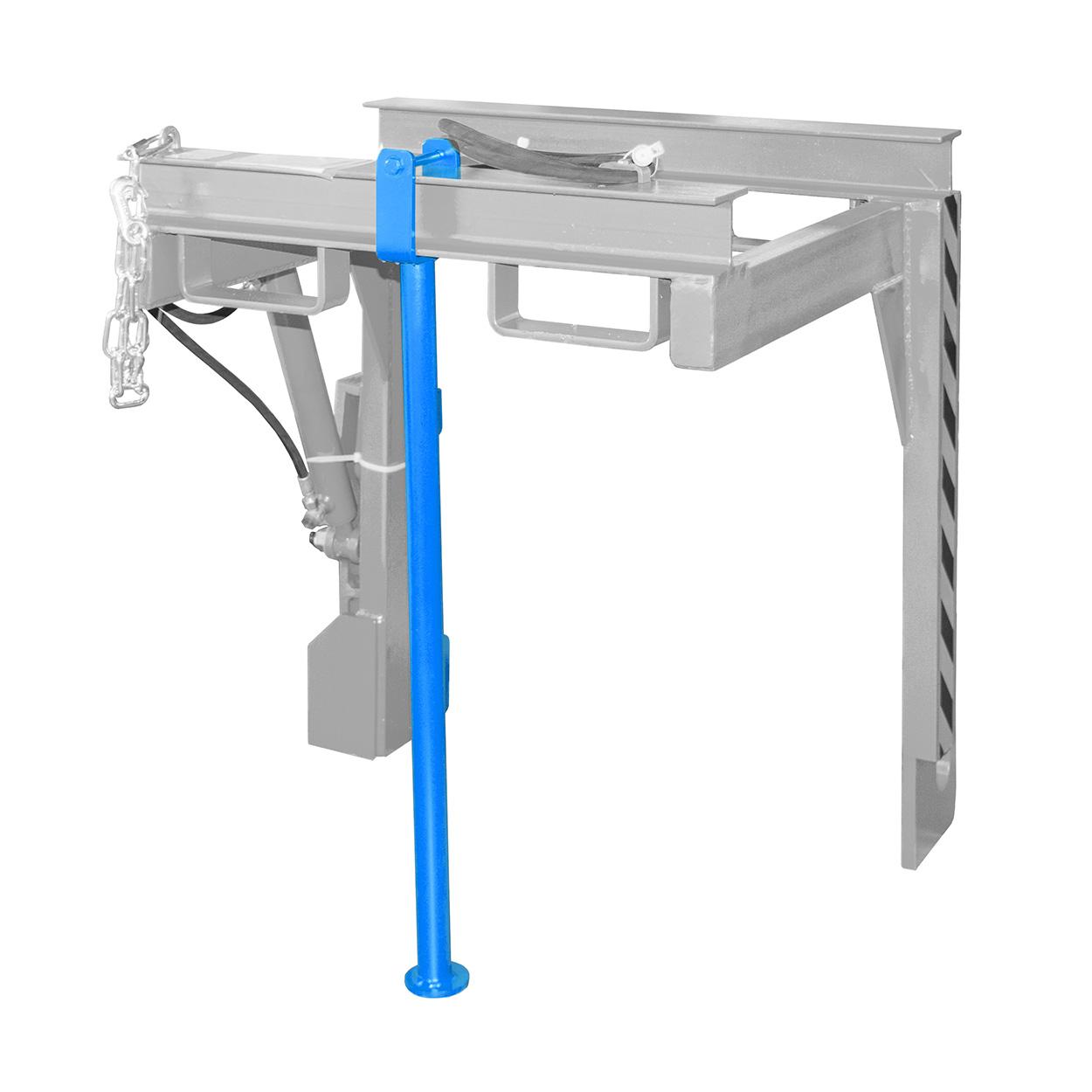 Skladovacia podpera pre vyklápaci a stohovací rám TRV