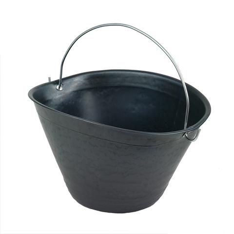 Vedro s oceľovým držadlom, 10 litrov