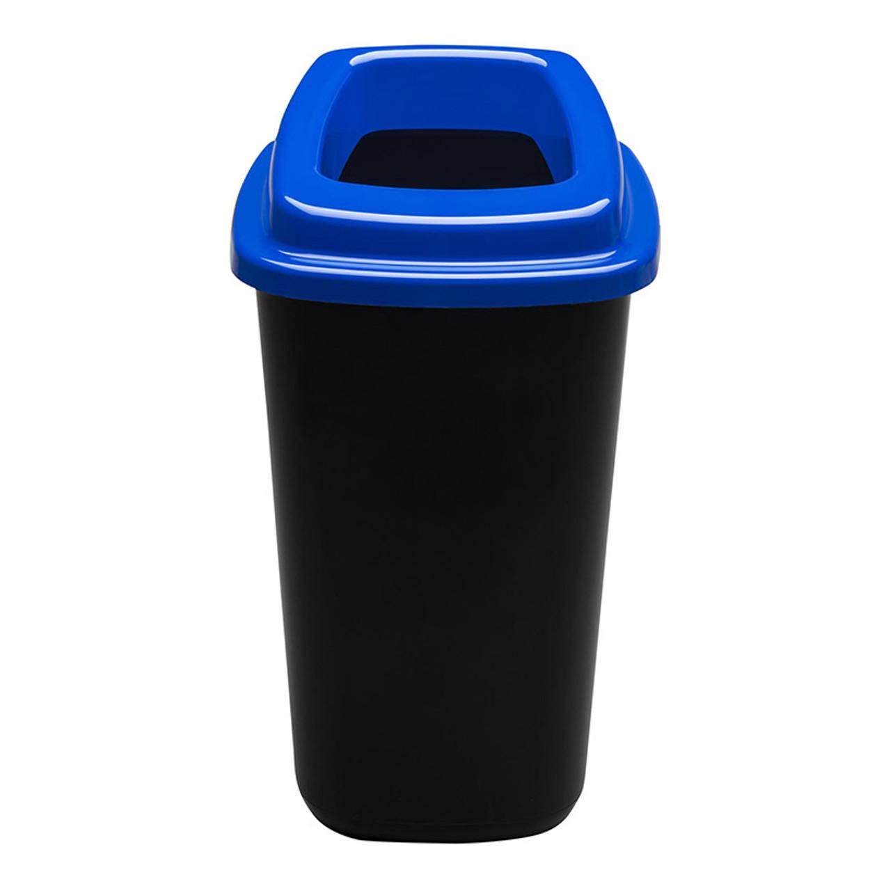 Plastový kôš na triedený odpad, 45 l, modrá