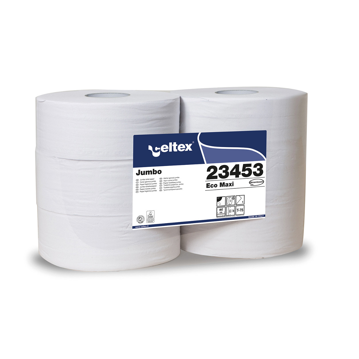 Toaletný papier Jumbo MAXI Eco, bez perforácie