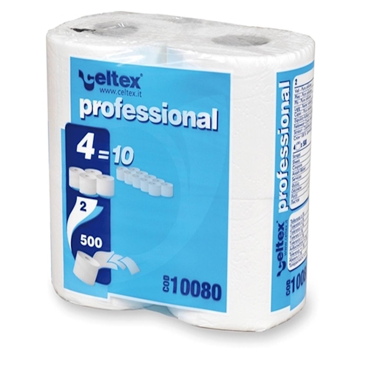 Toaletný papier, malé rolky Professional