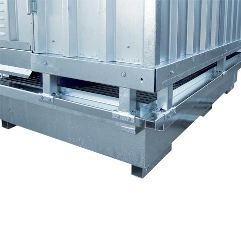 Ekosklad so samovoľnou ventiláciou, 2 × 1