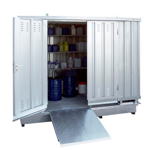 Ekosklad so samovoľnou ventiláciou, 3 × 2