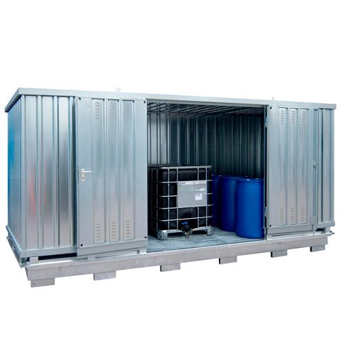 Ekosklad so samovoľnou ventiláciou, 6 × 3