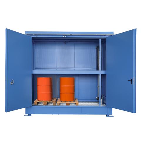 Protipožiarny kontajner - odolnosť 90 minút s aretáciou dverí