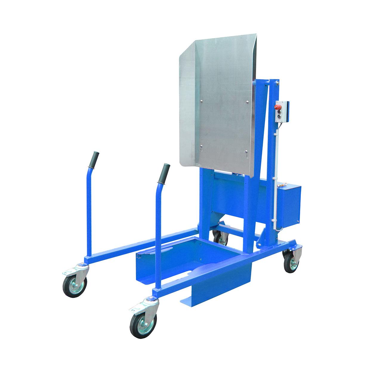 Pojazdný vyklápač odpadkových košov - elektricko-hydraulické