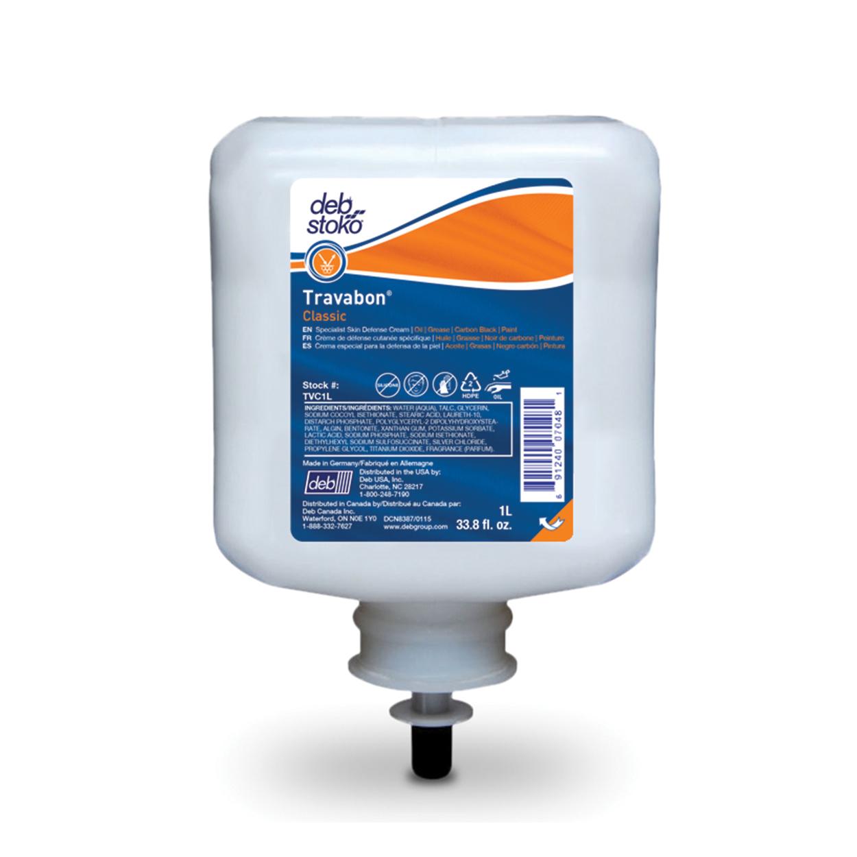 Ochranný krém proti oleju a mastnote 6x1L