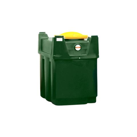Dvojplášťová nádrž na použitý olej