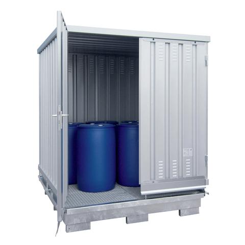 Ekosklad so samovoľnou ventiláciou, 2 × 2