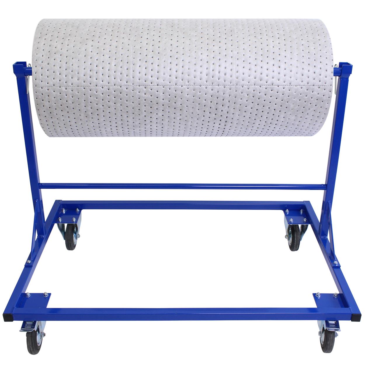 Výdajný stojan na textilný sorbent