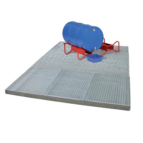 Podlahová plošina 100x50 cm